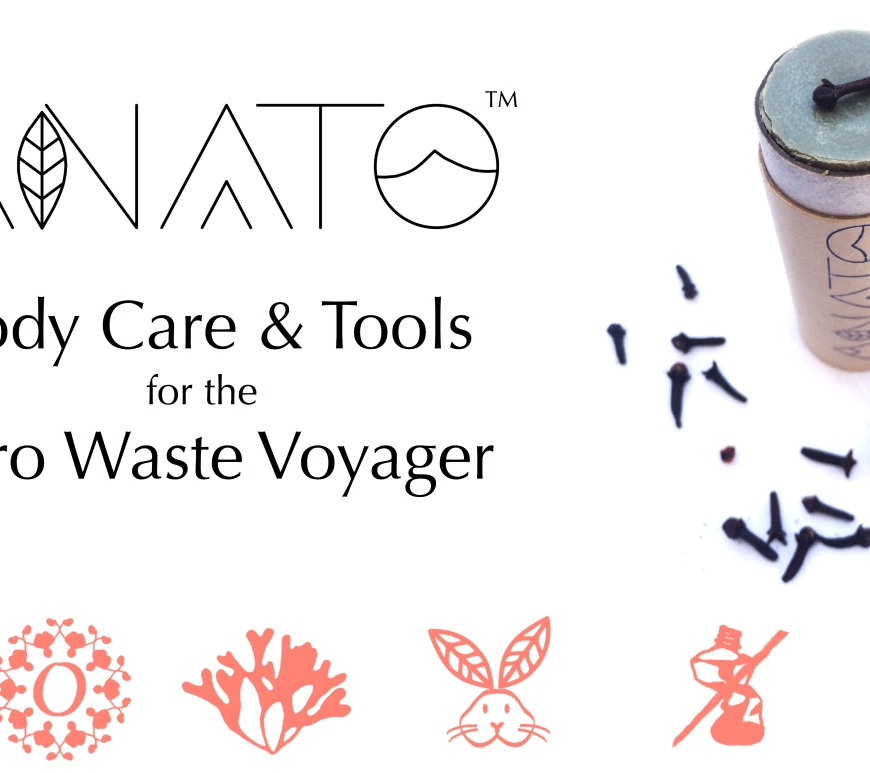 zero waste body care line