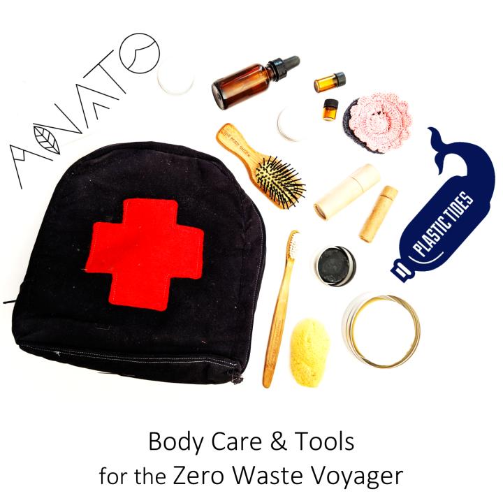 zero waste , plastic free body care line