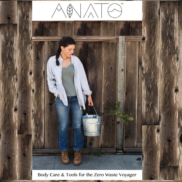 ANATO Skincare Plastic Free Body Care , Zero Waste Skincare, perennial skincare , regenerative body care